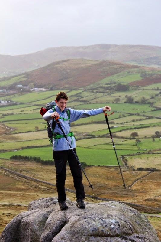 Jake McConnell Leki Carbon Titanium BAS Trekking Poles