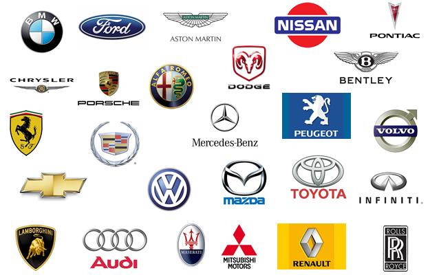 Marcas de vehiculos americanos europeos y asiaticos
