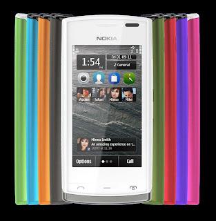 Nokia 500 Symbian OS Anna