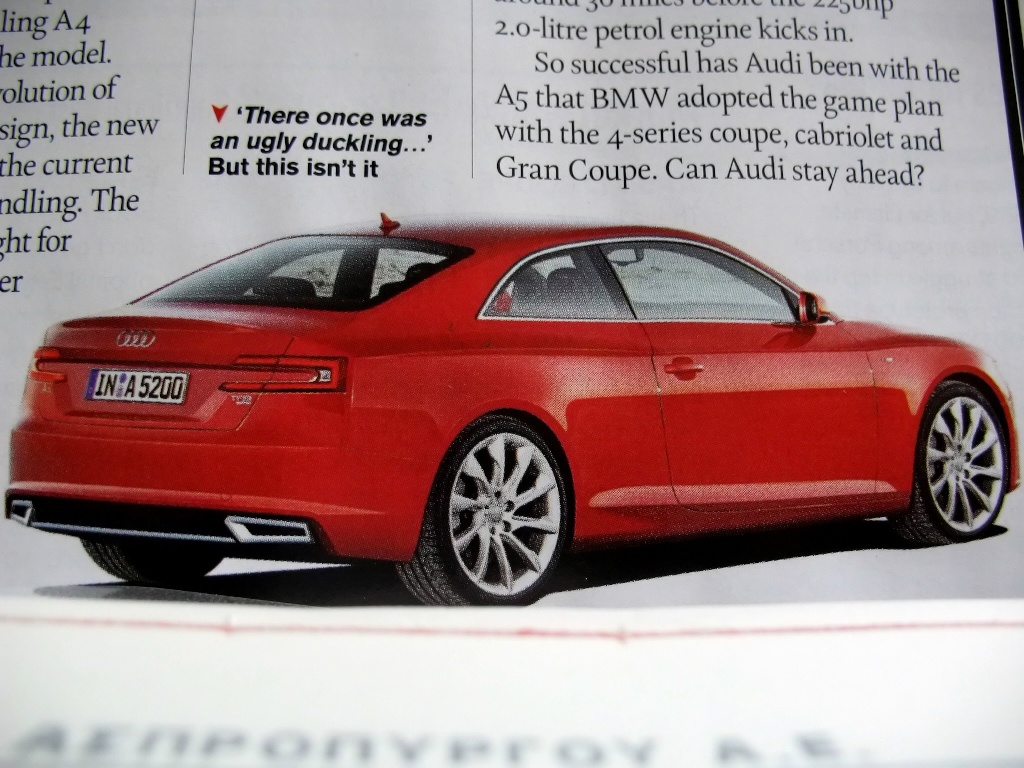 2015 audi a5 concept redesign release date price and specs. Black Bedroom Furniture Sets. Home Design Ideas