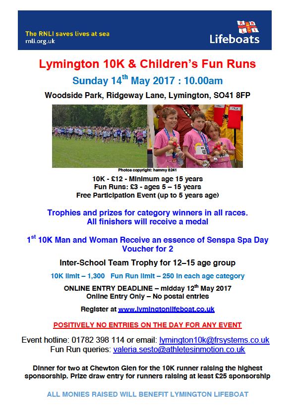 Lymington 10K