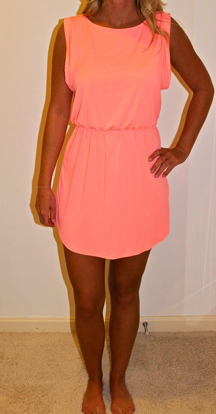 ebay coral dress