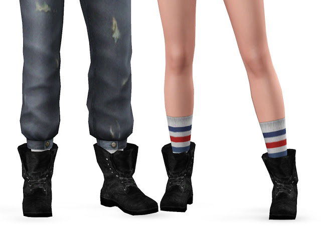 My Sims 3 Blog Scavenger Boots For Teen Elder Males
