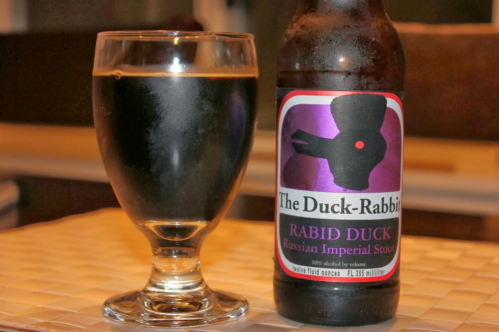 The Duck-Rabbit Rabid Duck Russian Imperial Stout IMG_1038