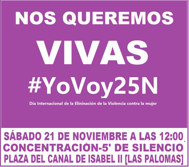 21 noviembre  #YoVoy25N