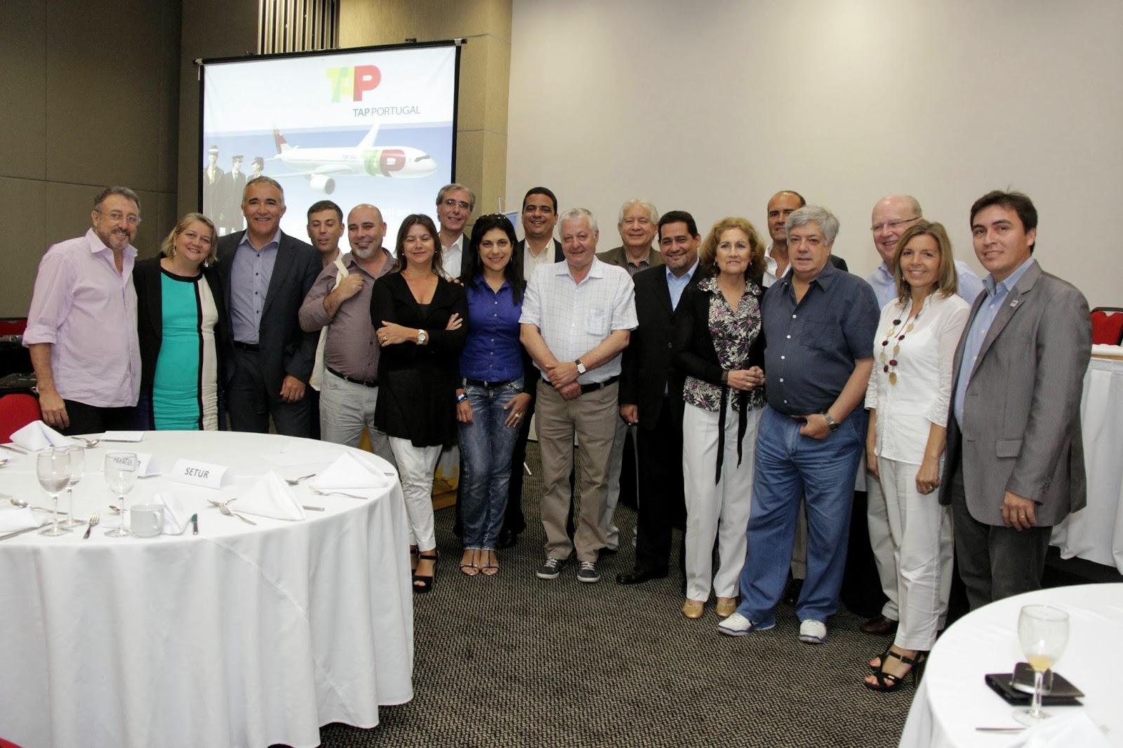 BCVB Belém,  Abav-Pa, ABIH, Paratur, Setur, Belemtur,  juntam forças para receber as demandas de fluxo da TAP ao Pará Foto:  Fábio Costa - Agência Pará