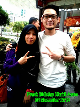 With Khairil Azam