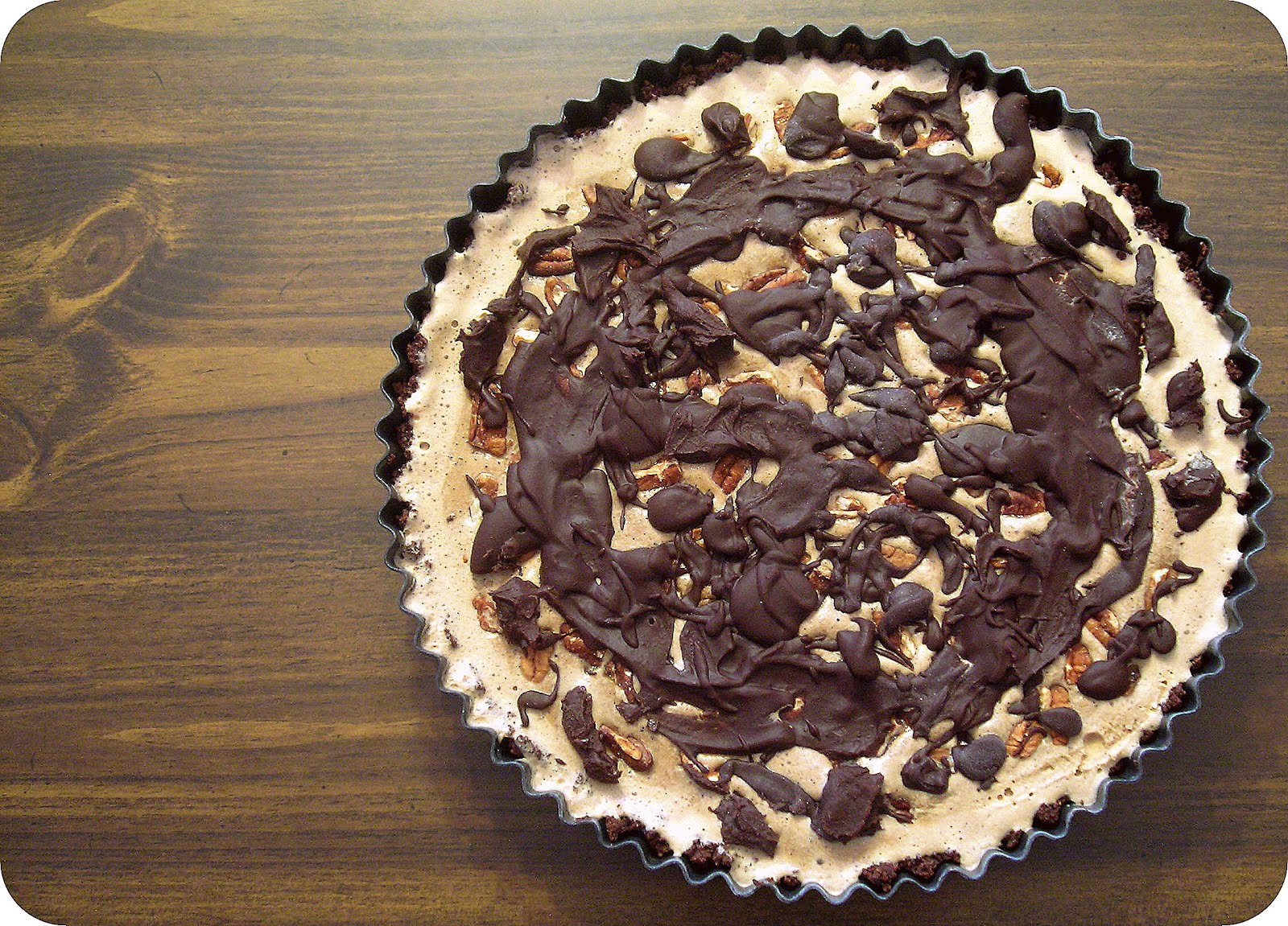 ... girl: Sweet Testing: Mississippi Mud Pie (aka Coffee Ice Cream Tart