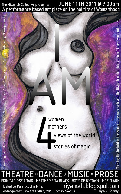 I AM – An exploration of a Woman's Imagination 11/6/2011