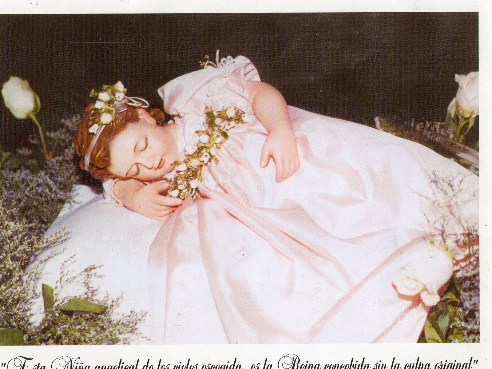 imagenes de la virgen nina: