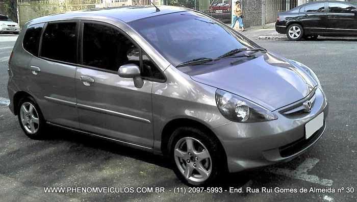Phenom veiculos honda fit 1 4 lxl autom tico 2008 usado for Honda fit 0 60