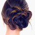 Super Easy Wedding Hairstyle For Bridesmaids: The Floral Side Bun Hairstyle Tutorial