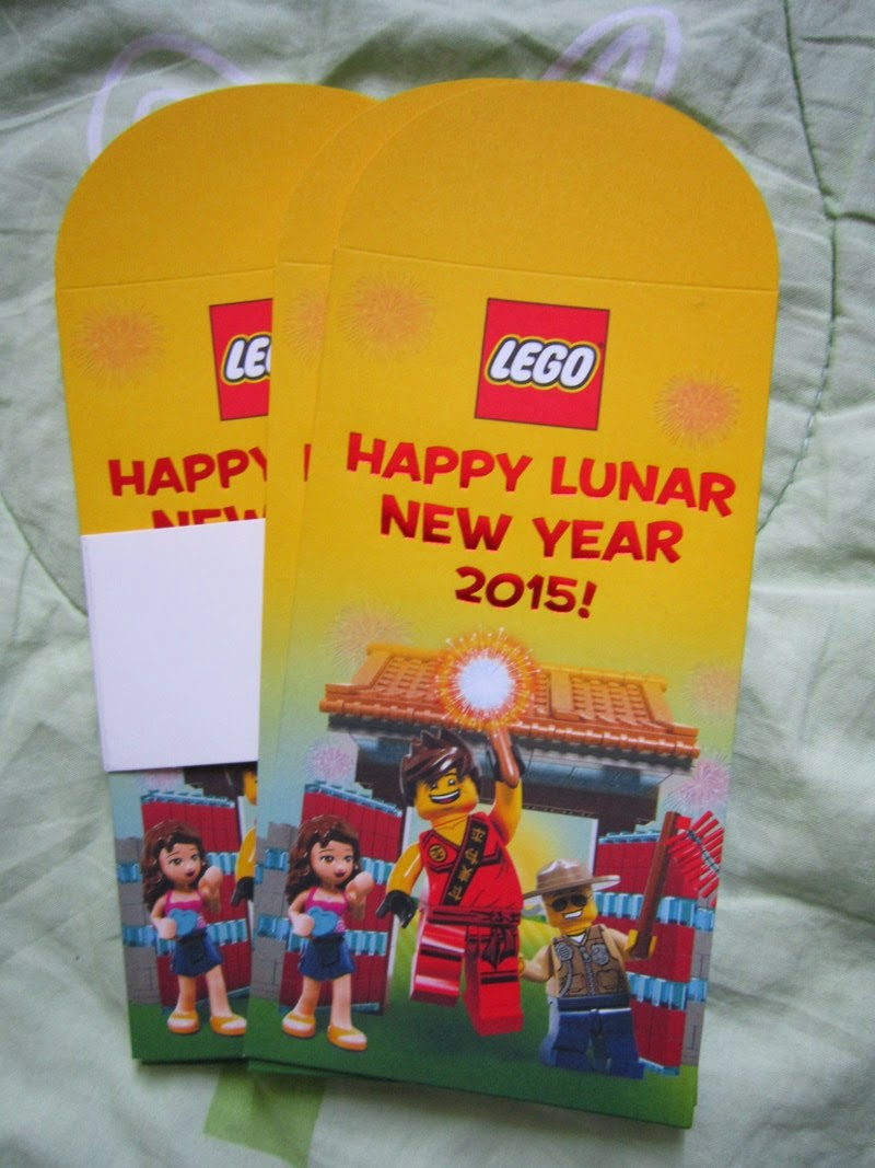 Chinese New Year 2015 Goat Sheep Ang Pow Hong Bao Red gift packet Malaysia Asia