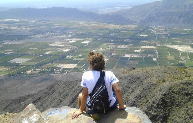 Trekking Sierras Azules, Zonda