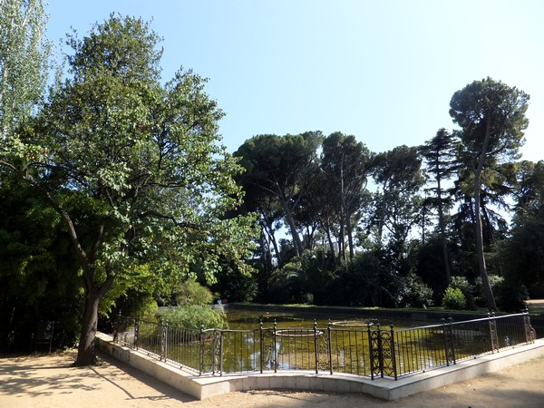 barcelone parc pedralbes