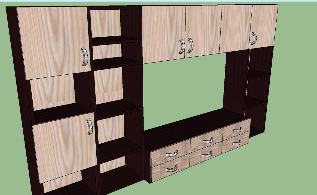 muebles con sketchup muebles y carpinteria r a
