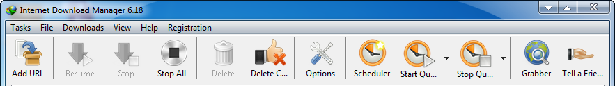 Toolbar Internet Download Manager