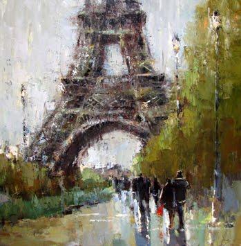 Whitehaven Paintings Of Paris By Barbara Flowers