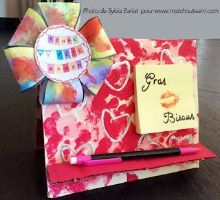 cadeau fête des mères bricolage enfant