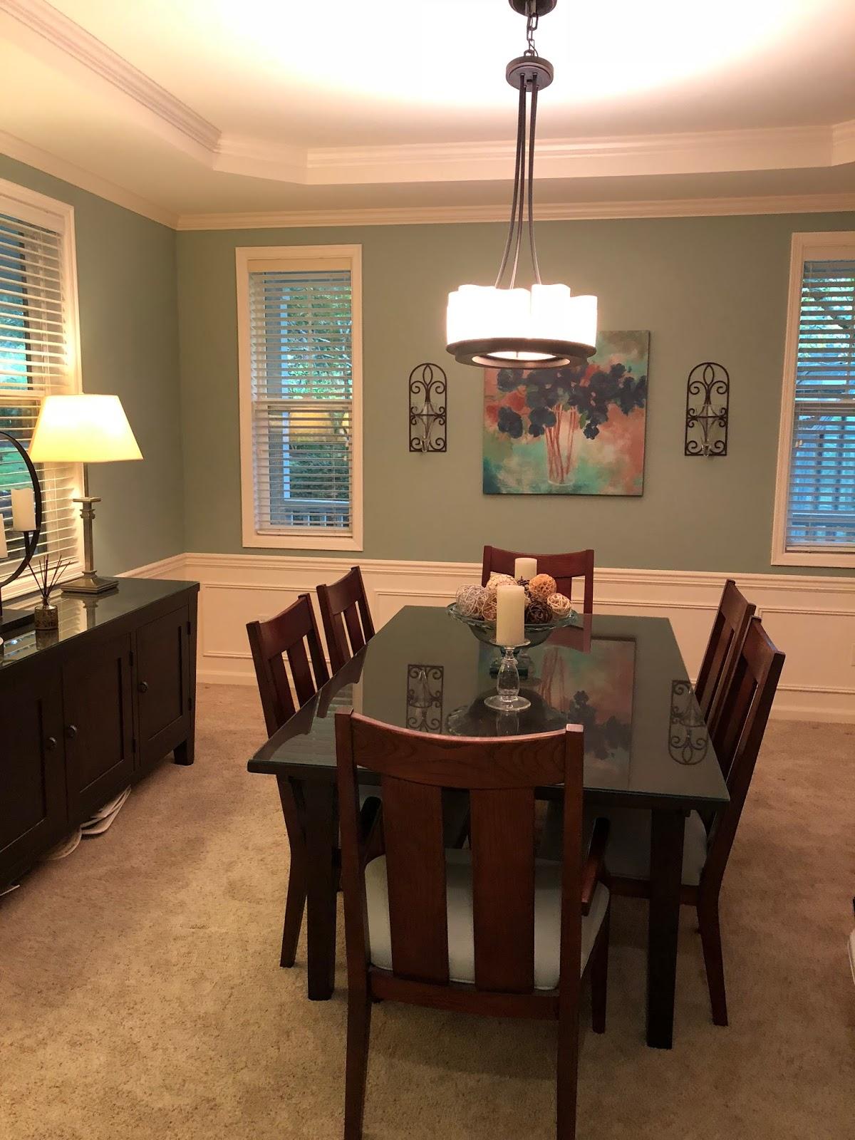 Walk through dining room