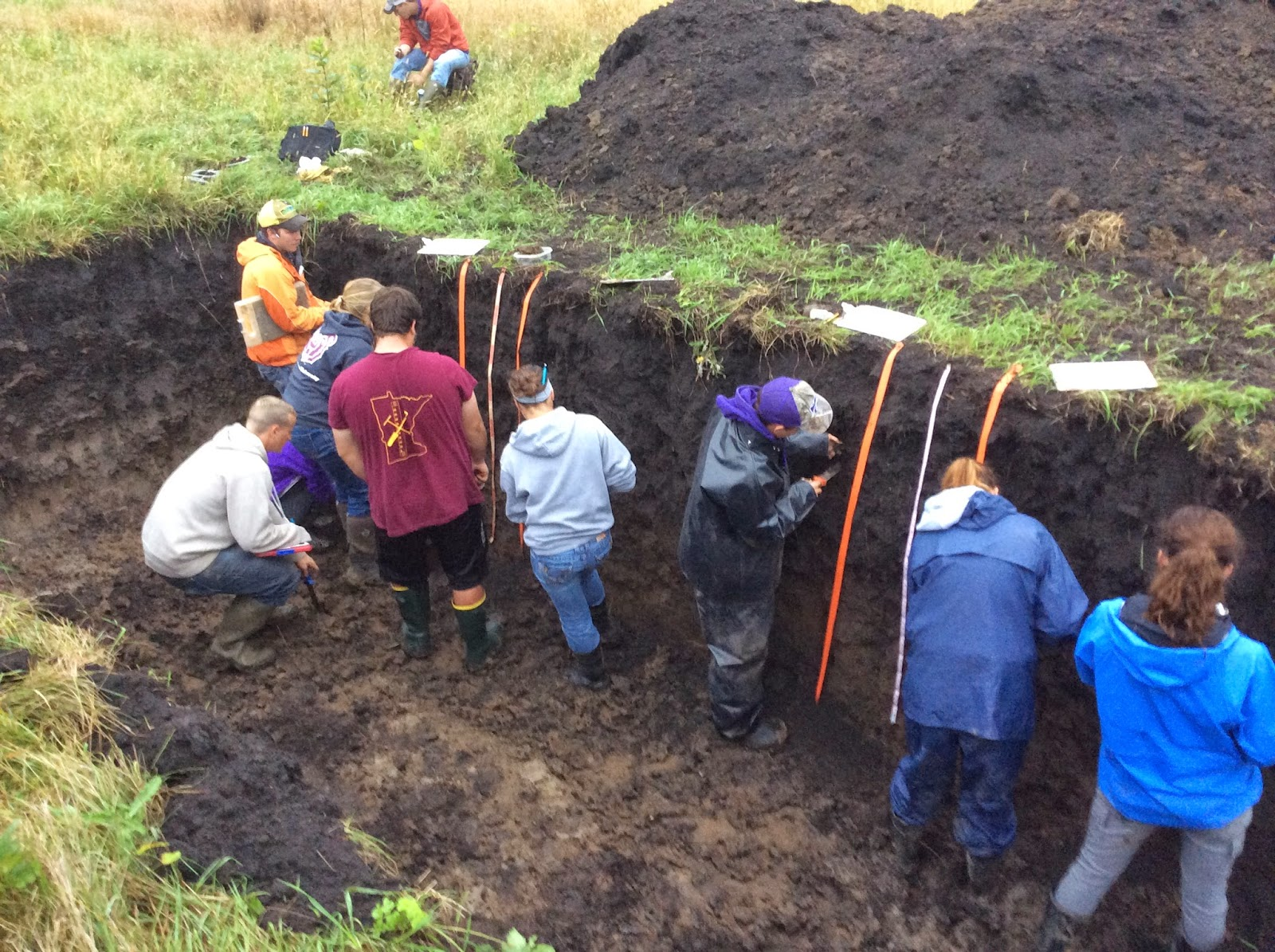 University of minnesota soil judging team october 2014 for Soil judging