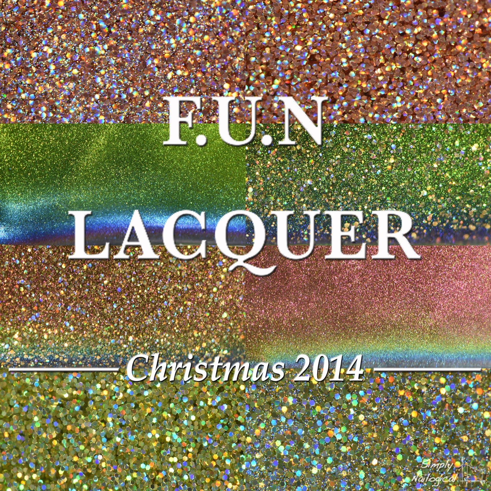 FUN Lacquer Christmas 2014 collection
