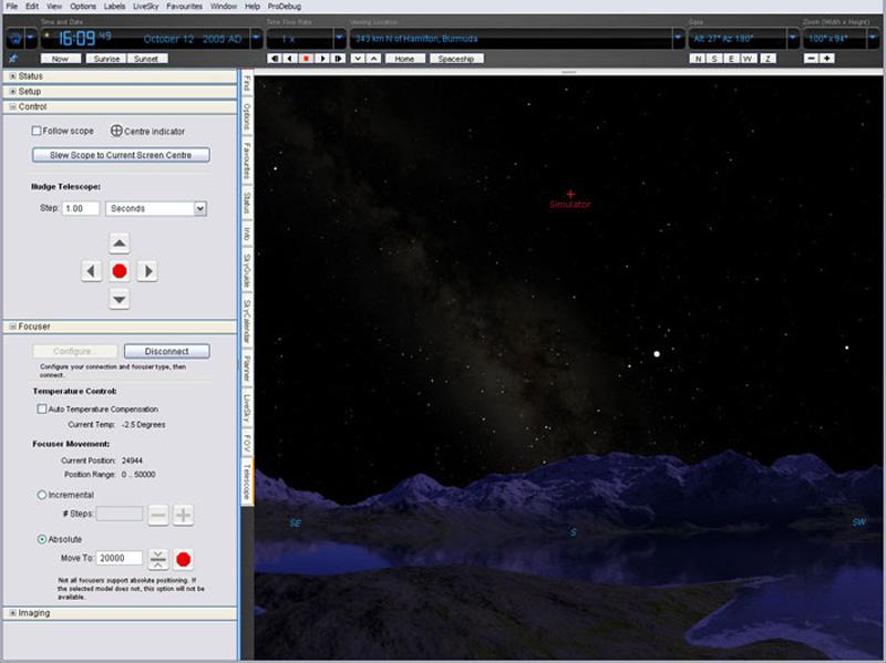 Skysafari Pro v1.7 (Mac OSX)
