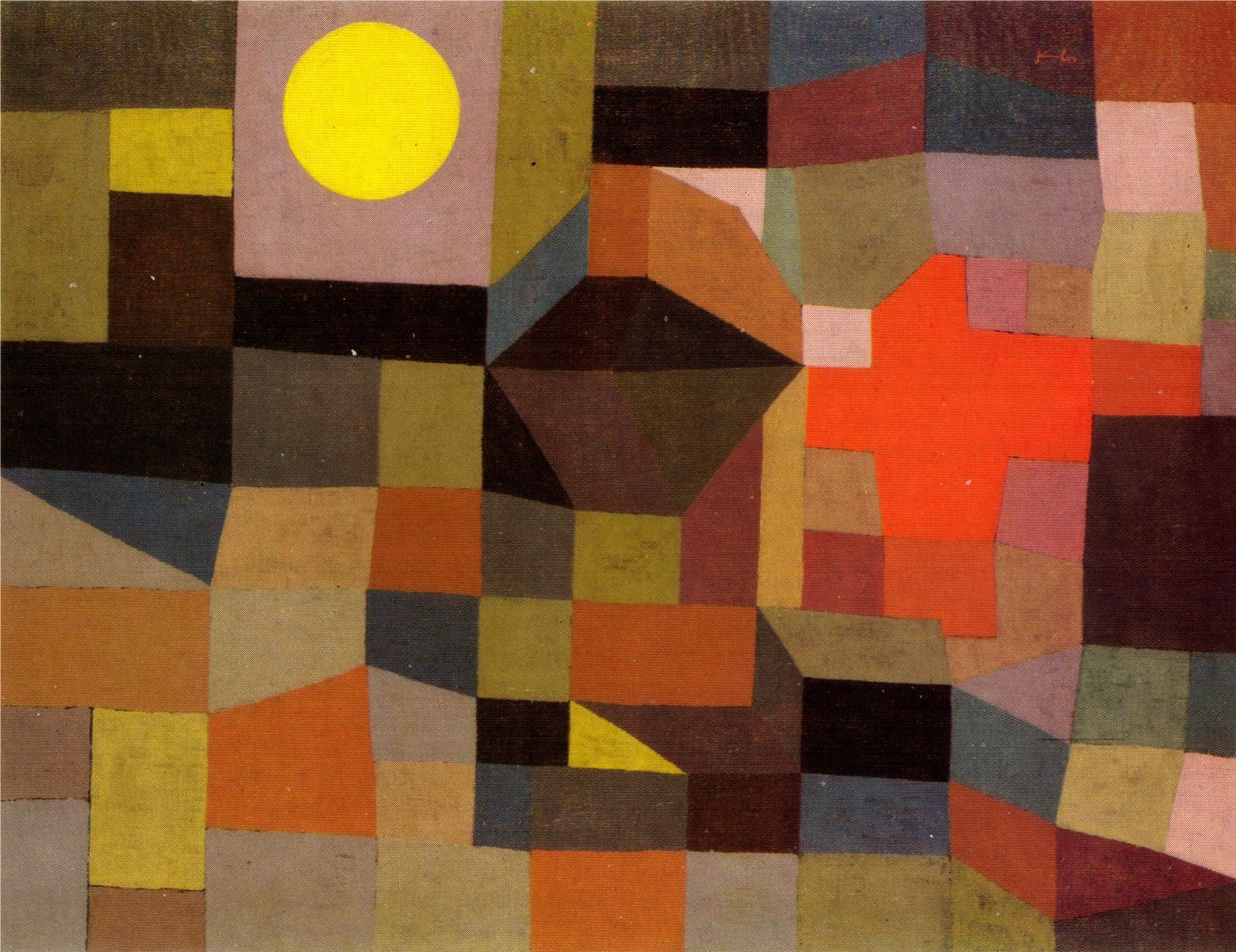 paul klee I analyze the circumstances surrounding and reproduce paul klee's  tod in  english, but death was too long, so i chose to go with die.