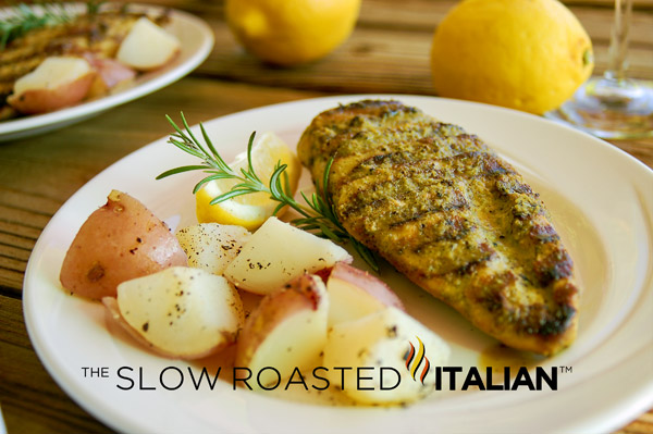 Grilled chicken with Simple Rosemary Lemon Marinade is easy and ...