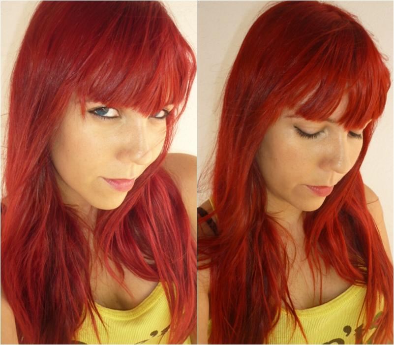 Baño De Color Rojo Intenso Mercadona:En persona se ve rojo frambuesa, aunque no se vea en las fotos