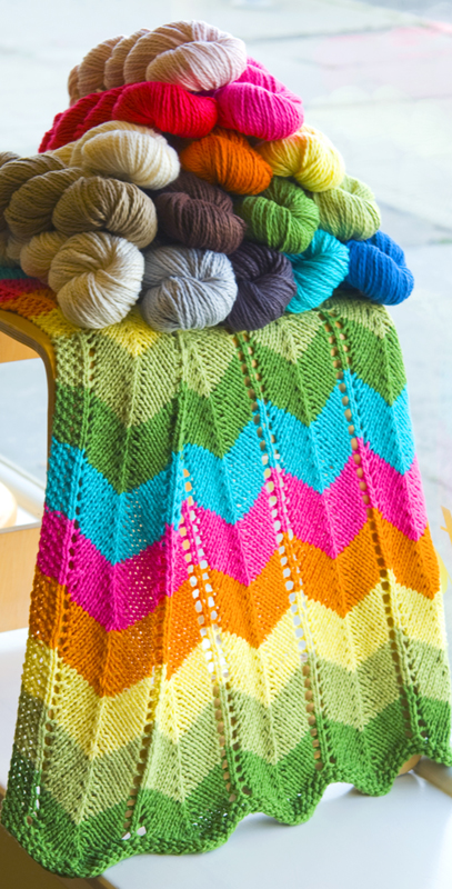 Zig Zag Knitting Pattern Baby Blanket : In bloom bugaboo and missoni collaboration