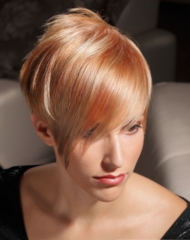Multi-tonal Blonde Hair Style 2014