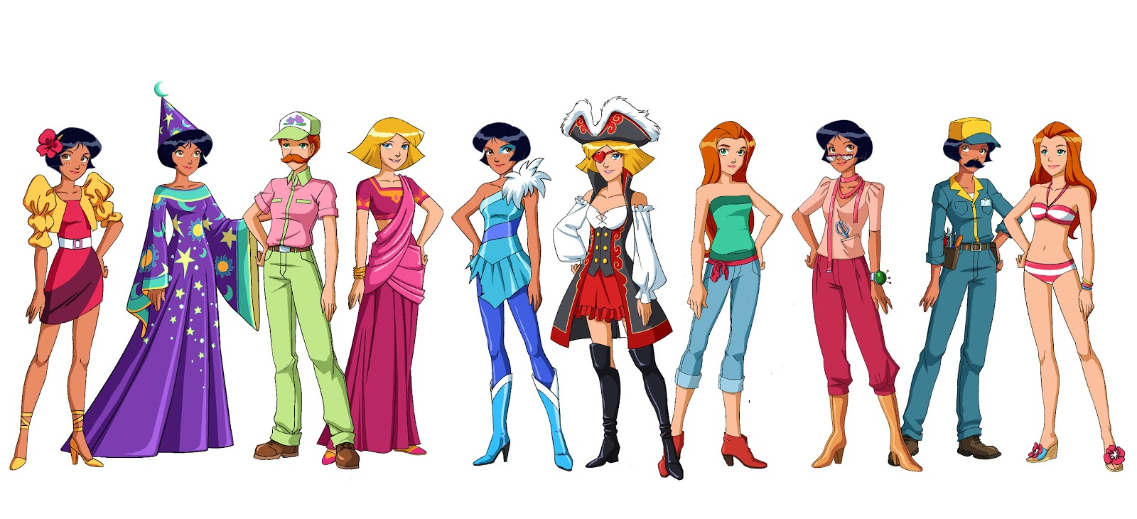 Caroline frydlender animation - Dessin anime de totally spies ...