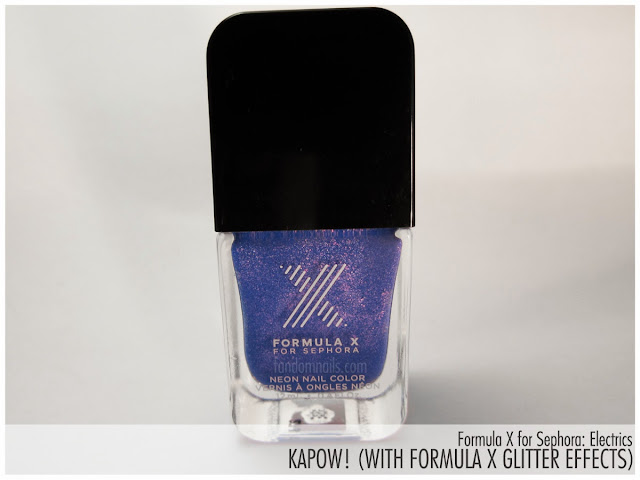 Formula X by Sephora: Electrics: Kapow! swatch
