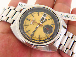SEIKO CHRONOGRAPH 6139 6013 YELLOW DIAL - AUTOMATIC - PART A