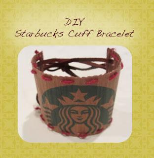 DIY - Starbucks Cuff Bracelet