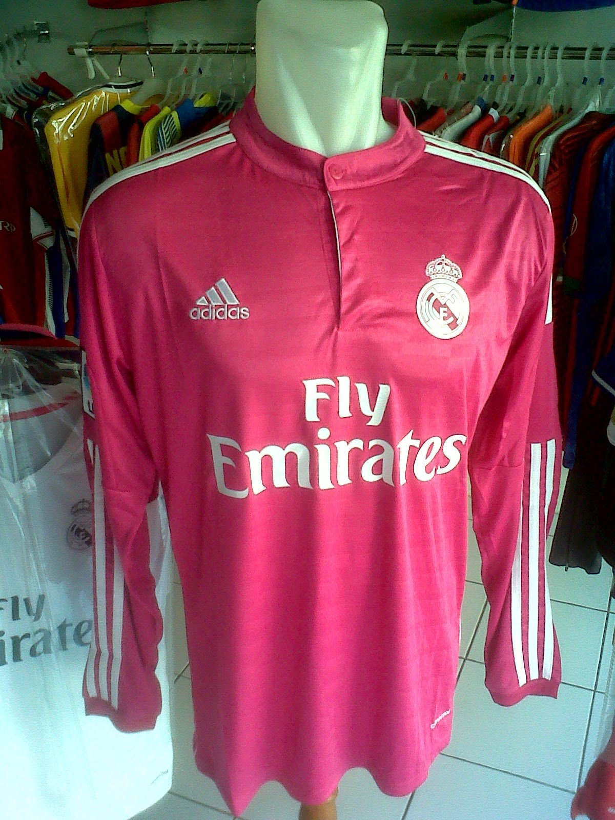 Jersey Real Madrid Away LS 2014/2015