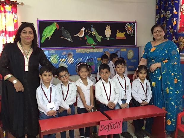 Kindergarten .l . Model School Pitampura