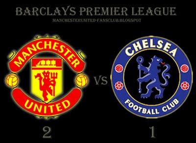 Manchester united vs chelsea barclays premier league match result