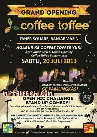Coffe Toffe Banjarmasin