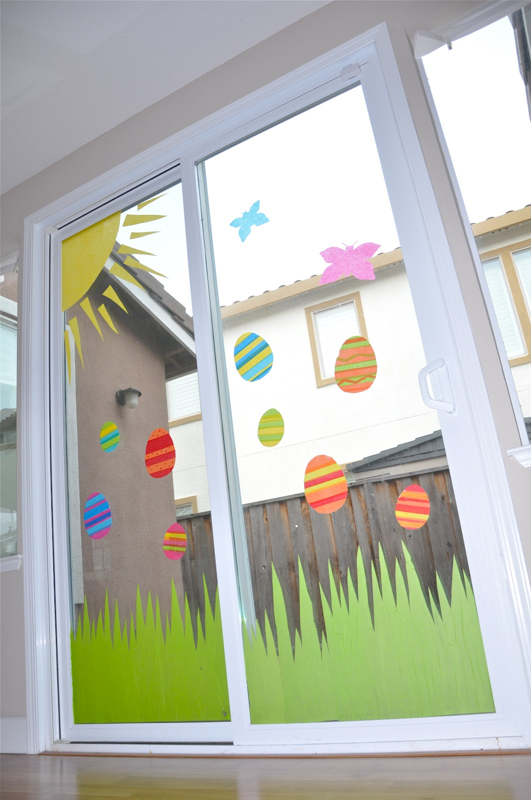 Classroom Window Decor : Tutorial tissue paper window art creative juice