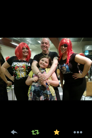 Nicky Rockets at Curvy Con