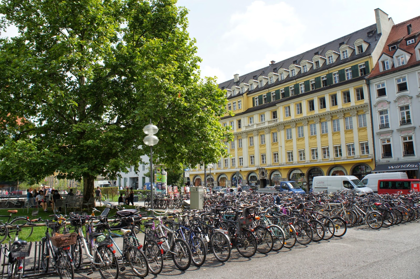 Parking de bicicletas en Munich