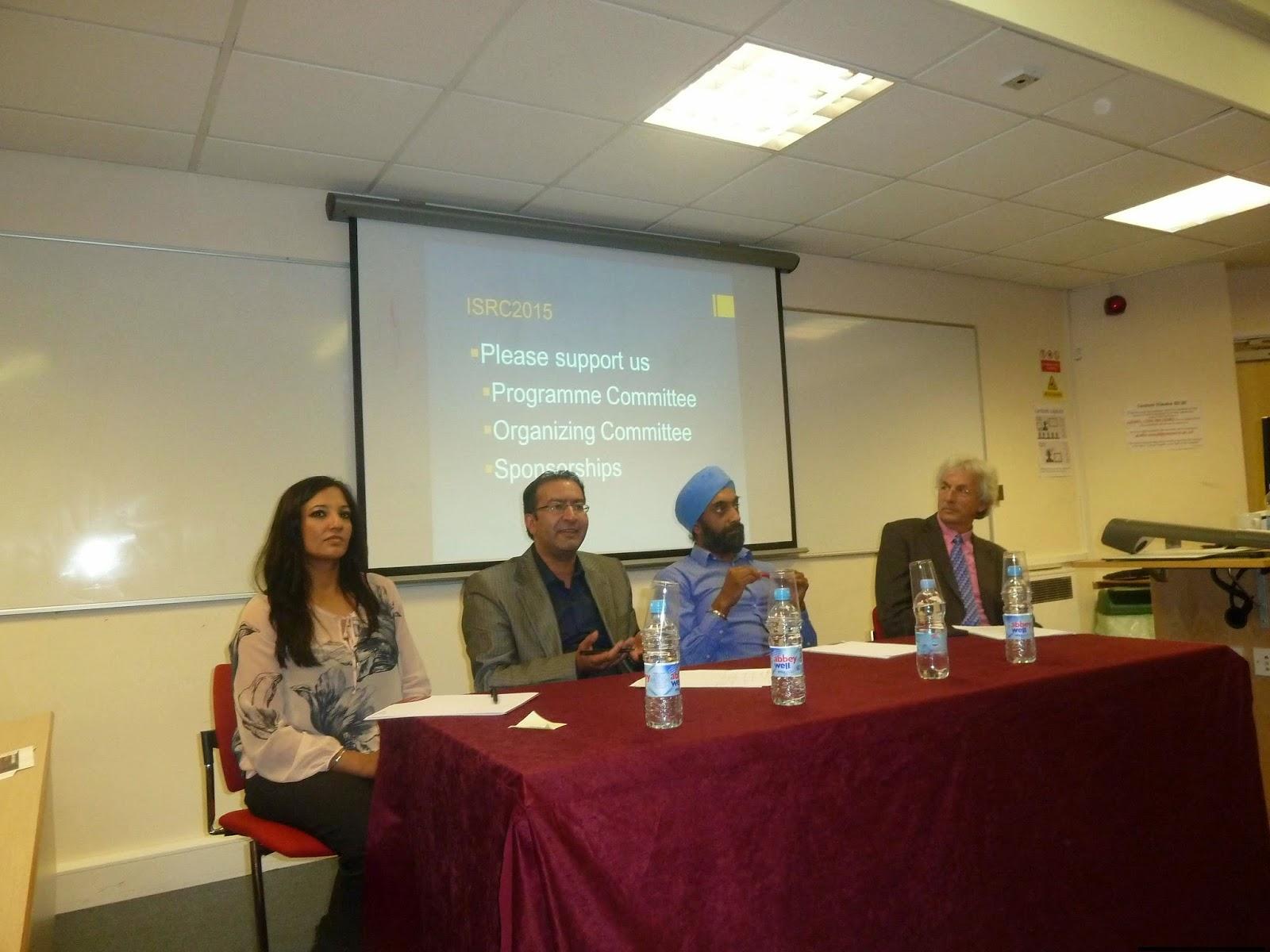 the sikh nugget plenary panel l r opinderjit kaur takhar gurinder singh mann harjinder singh lallie brian brocking