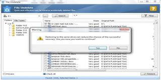 Cara Mengembalikan File yang terhapus dari Recycle Bin