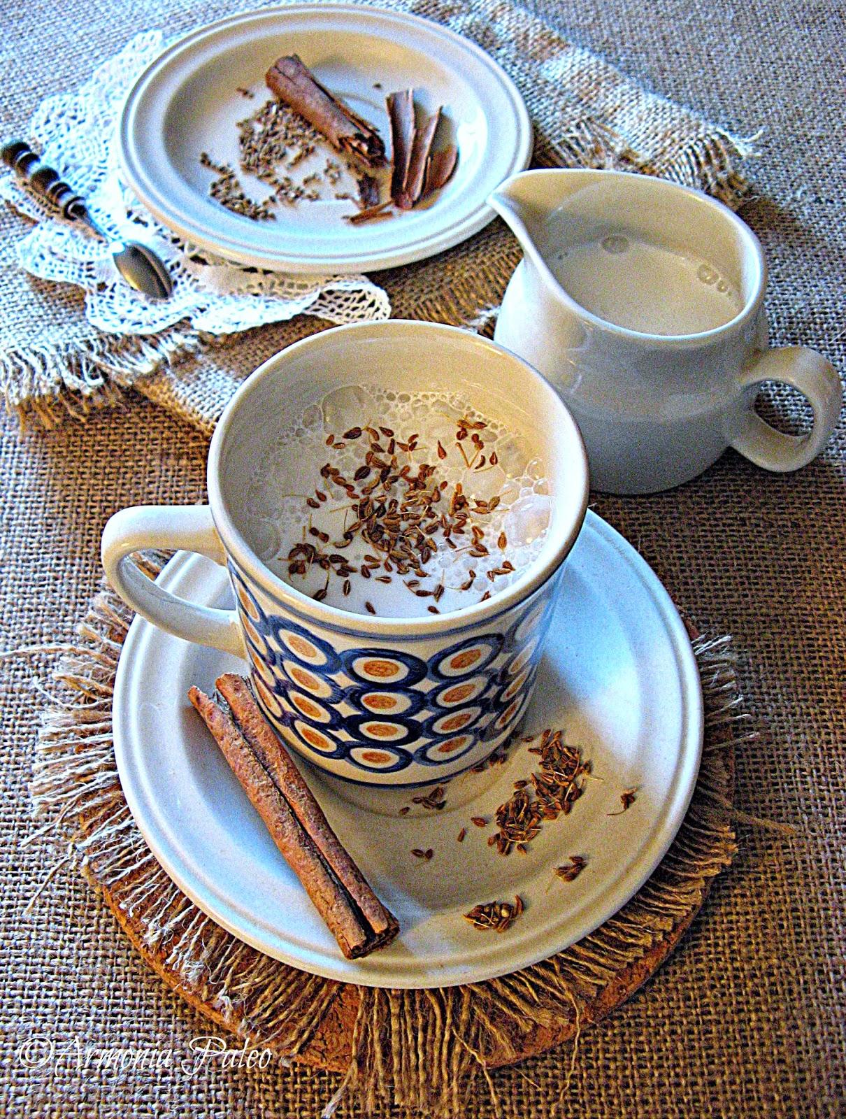 Latte di Mandorle all'Anice di Armonia Paleo