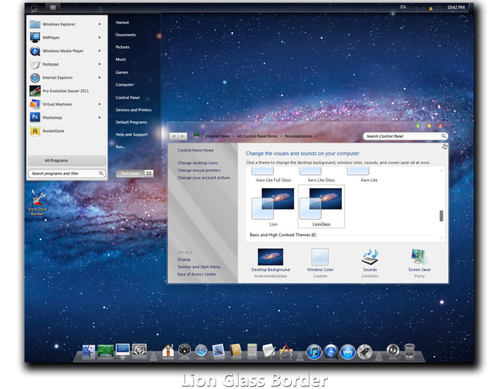 Windows 7 Mac os x Temas? images