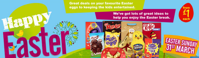 Where roots and wings entwine happy easter with asda i got some yummy teeny weeny eggs for us all to enjoy and to use on a fun mini egg hunt negle Images