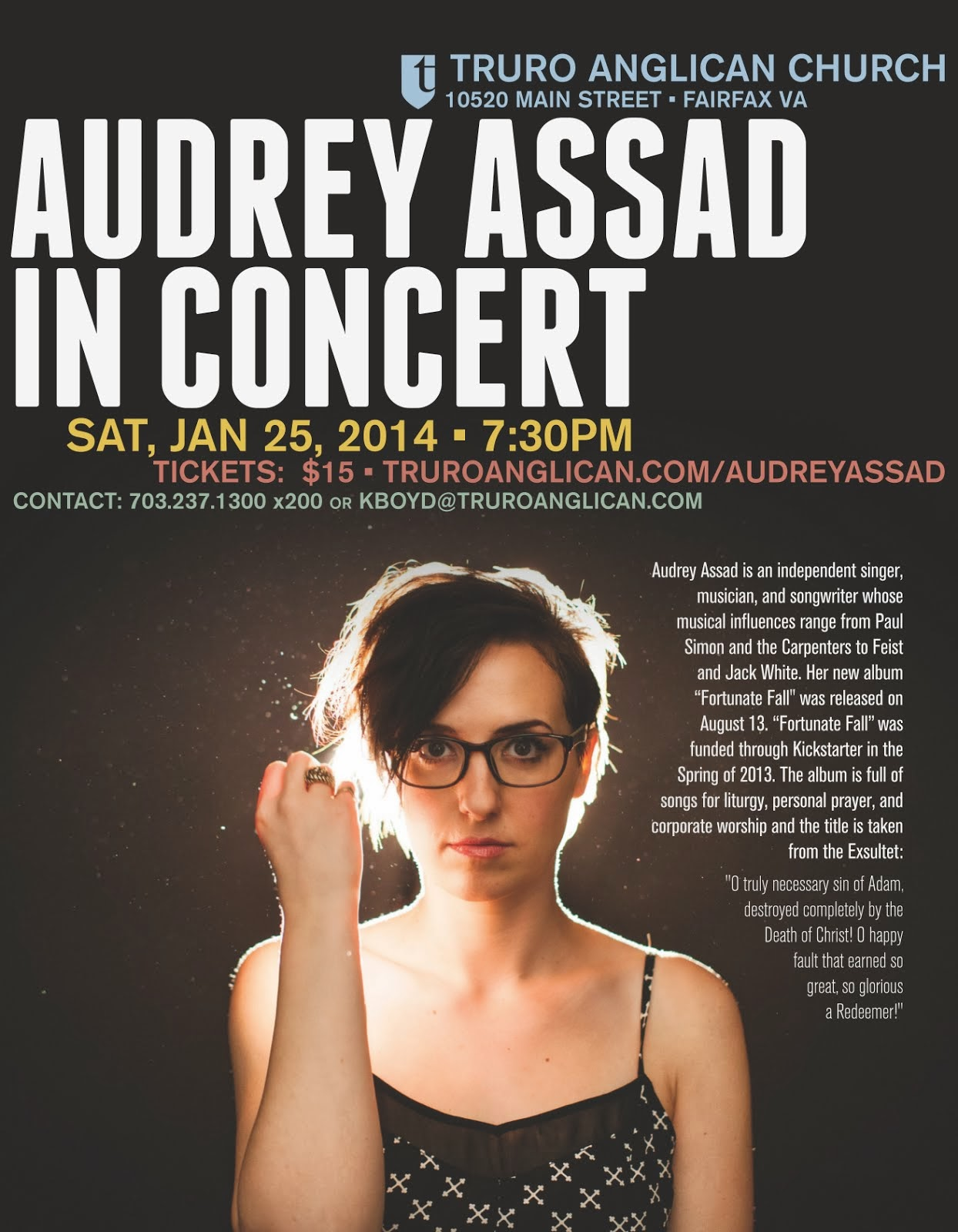 Audrey Assad in Concert