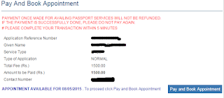 Step 5: Pay and Schedule Appointment for Passport image